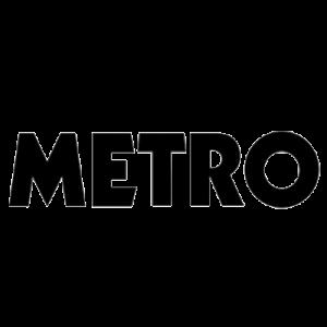 Logo of Metro