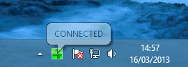 VPN4ALL connected icon