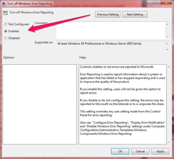 windows error reporting 2