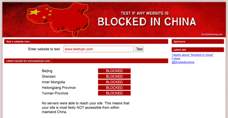 blocked in China 1