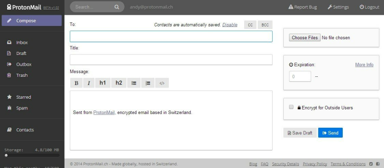 Proton Mail interface_2