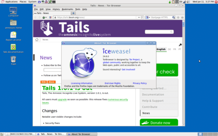 Tails Linux OS