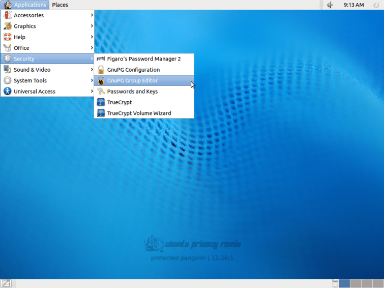 Ubuntu Privacy Remix security