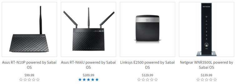 Sabai VPN Routers Pricing Pricing