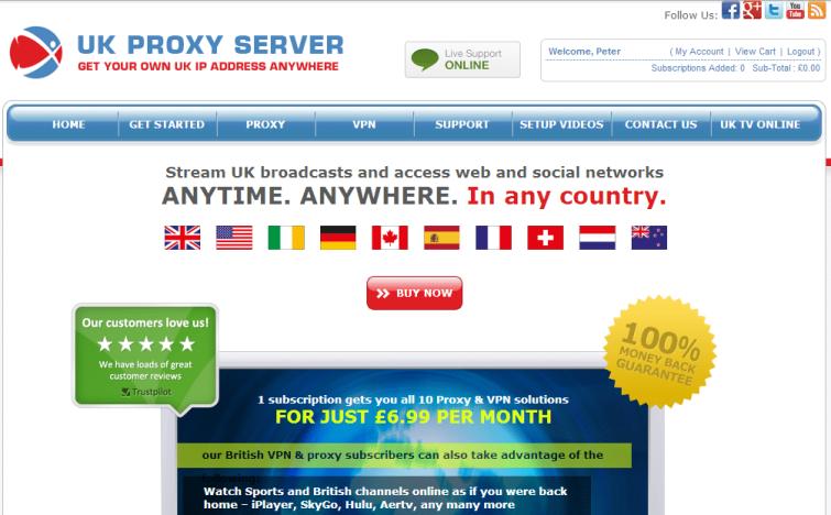 UK_Proxy_Server_Homepage
