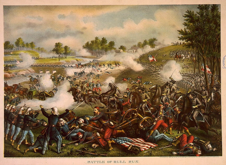 First_Battle_of_Bull_Run_Kurz_&_Allison