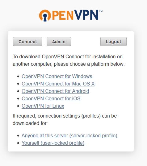 openvpn connect clients