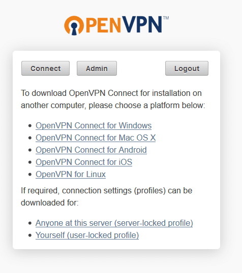 openvpn menghubungkan klien