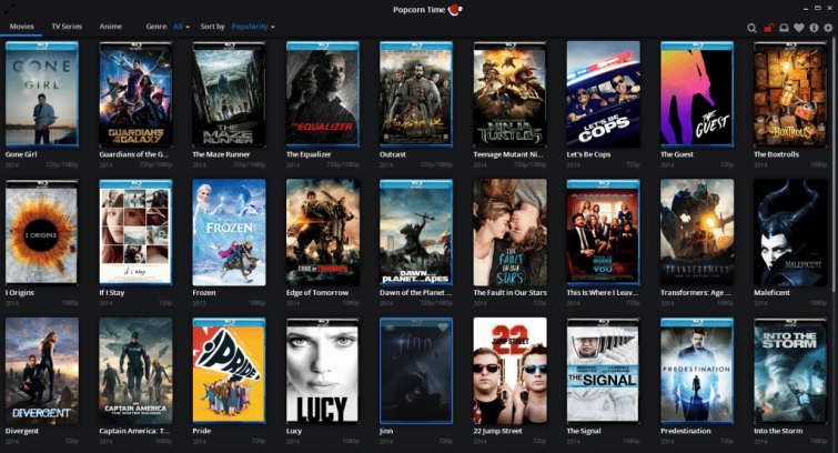 Popcorn Time io Dec 2014
