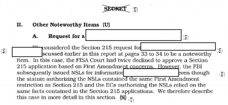 Surveillance request ruled unconstitutional? Just issue a National Security Letter instead!