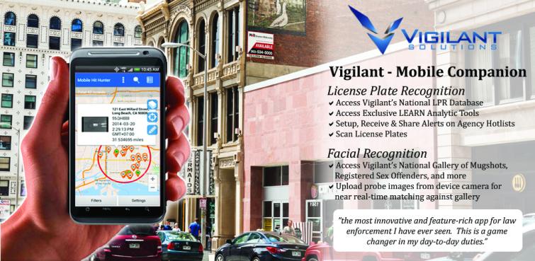 ALPR Vigilant app