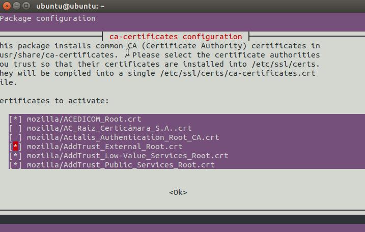 Ubuntu root certs 3