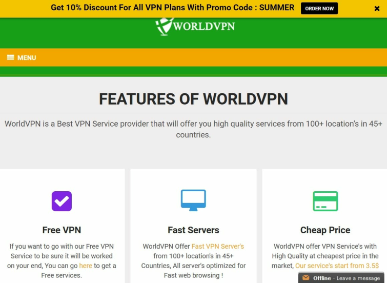worldvpn_website
