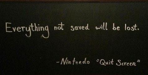 Nintendo Quit