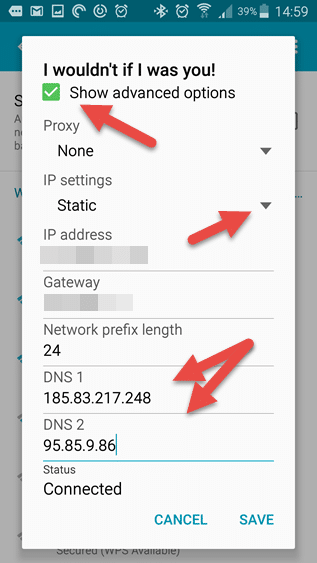 DNS Android 3
