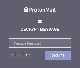ProtonMail recive secure email 2