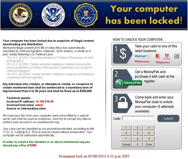 lock screen ransomware