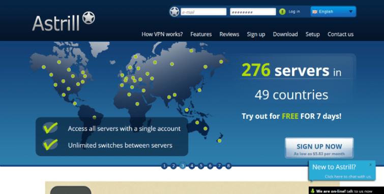 Astrill vpn china blocked