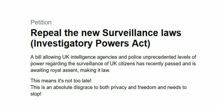 Your Last Chance to Stop the UK Government Snooping on Your Online Life