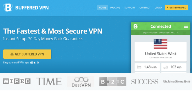 Buffered Skype VPN