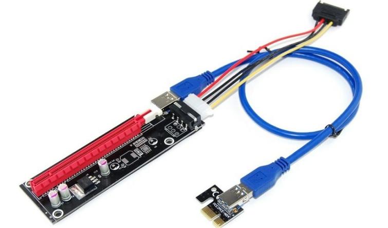 Powered PCI Riser