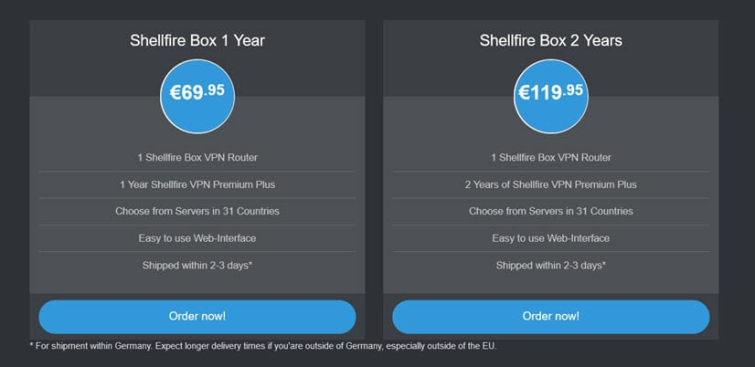 Shellfire Box Review pricing