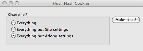 delete flash cookies windows 7