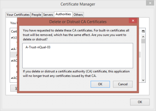 A Guide to Root Certificates