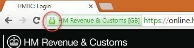 Secured website Chrome