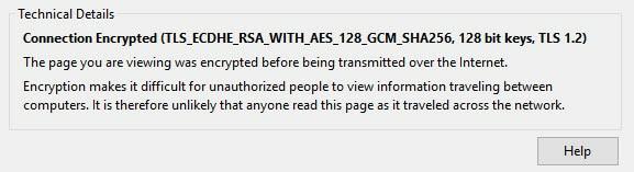 TLS details