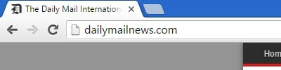 Unsecured website Chrome