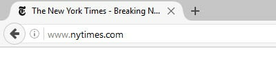 Unsecured website Firefox - no HTTPS