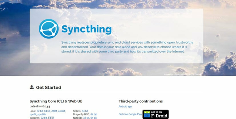 Syncthing Secure File Synchronization