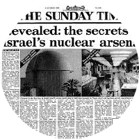 Isreal Nuclear Arsenal Leak