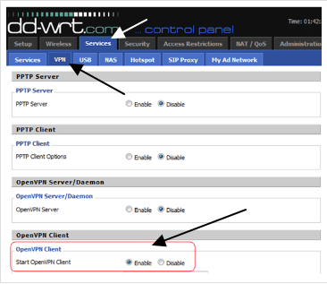 How to Setup a VPN on a DD-WRT Router   ProPrivacy com