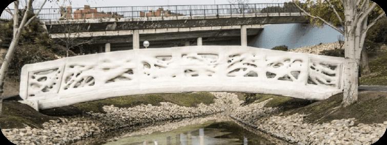 First 3D Printed Bridge
