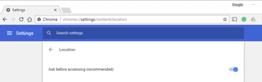 How to Disable Geolocation in Browsers