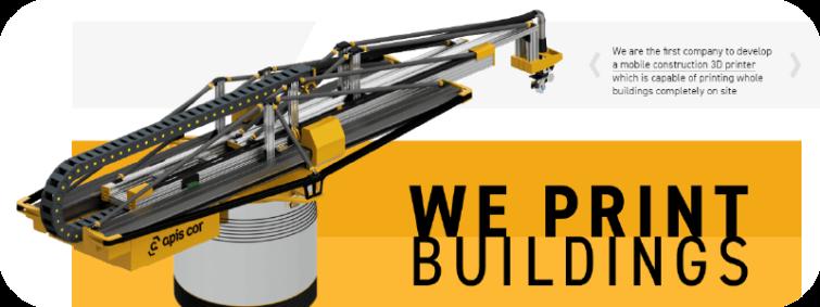 Mobile Construction 3D Printer