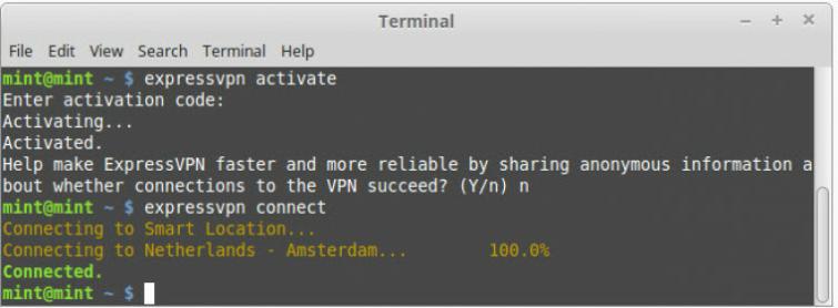 Linux Mint VPN