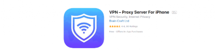 VPN proxy for iPhone