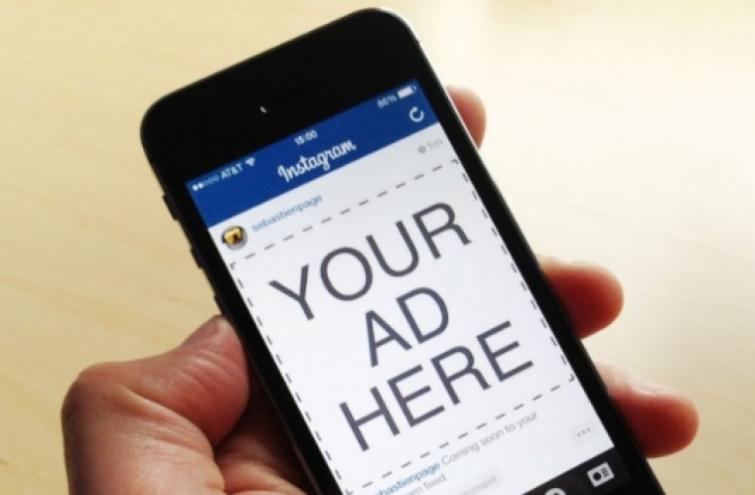 Instagram targeting adverts