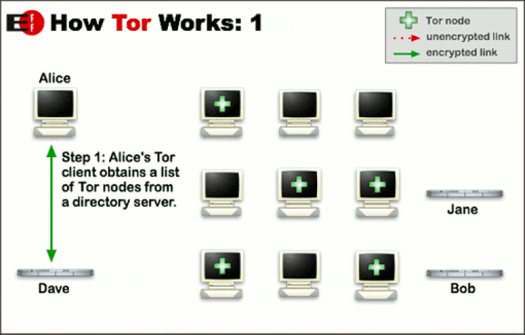 How to Tor Infographic
