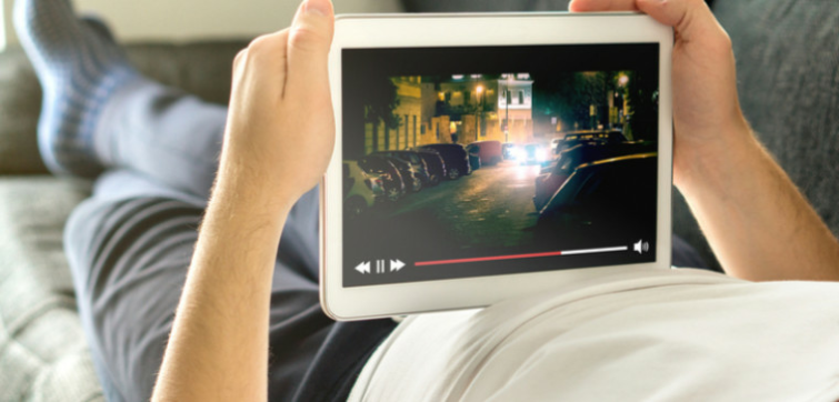 Streaming TV on a tablet