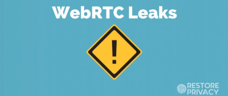 webrtc leaks