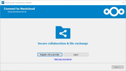 How to set up next cloud on a self hosted server