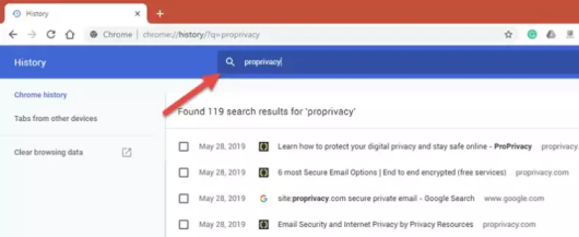 How to delete browsing history on Chrome | Guide for Windows