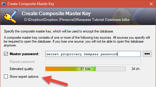 A Guide to Setting up KeePass Password manager