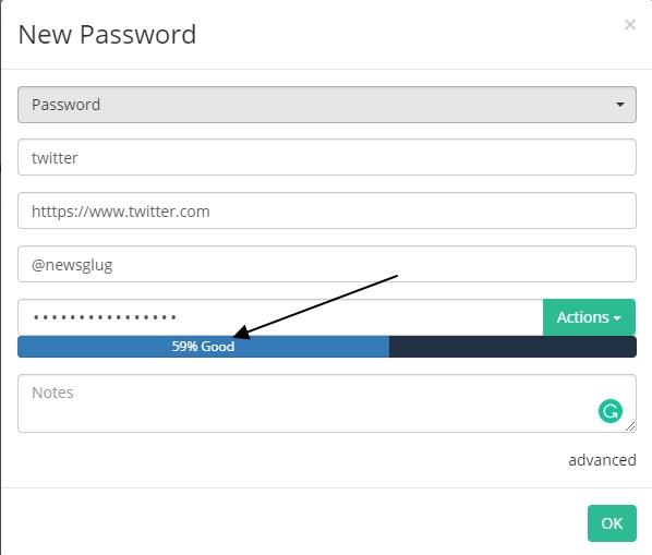 Psono password