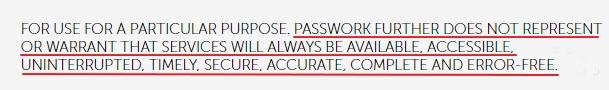 Passwork notice