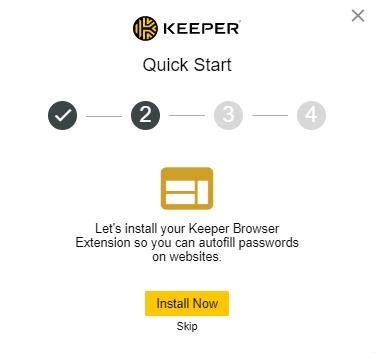 Keeper installation